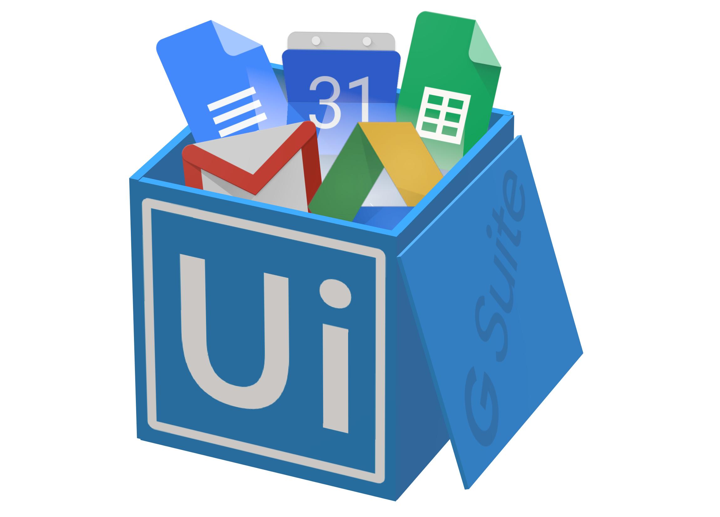 Google GSuite   UiPath Go!
